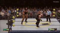 WWE一对一!男人之间的对话!送葬者单挑黑羊!