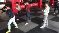 长沙戈锐泰拳少儿班4天训练效果
