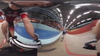 360 VR 全景 虚拟现实 室内自行车竞速练习-带你体验不一样的自行车速度!