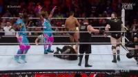 WWE【Raw111】伦斯开挂三秒便被吊打大布宣布参加