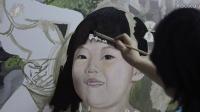 EP.152绘画自习室 可爱女孩色彩头像画法 头发的刻画 油画人物画法