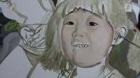 EP.151绘画自习室 可爱女孩色彩头像画法 油画人物画法