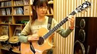 韩国吉他美女Sandra Bae 翻弹押尾桑经典- Fight -Kotaro Oshio