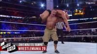 塞纳十大夺冠瞬间pq0WWE武林风UFC军武次位面