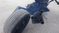 路探者 你真的没看过,摩托车加装上机关枪了