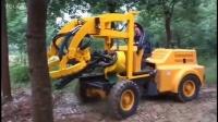 挖树神器 国产智能挖树机崛起 我爱发明旋风巨刃.mp4