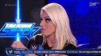 WWE Talking Smack Elimination Chamber 2017:Alexa Bliss &amp