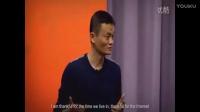 马云在美国哈佛大学演讲,