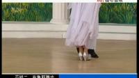 02杨艺交谊舞 布鲁斯舞步表演与动作分解