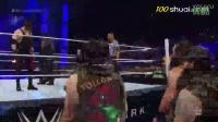 【中文解说】WWE致命复仇真假凯恩面具...