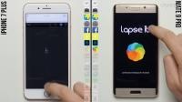 iPhone 7 Plus 与 华为 Mate 9 Pro 速度测试