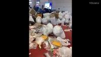 中国游客机场扔垃圾 韩国人:收入岛费