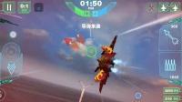 现代空战3D 3.6版 PK 金木水火土 1分40秒被剃头 加速不能躲弹