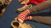 Shoeplay with my Nike Air Max and a little Teddy