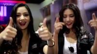 曼谷第32届国际车展宝马美女的围观