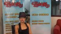 歌手韦嘉接受伊金霍洛中国民歌榜专访
