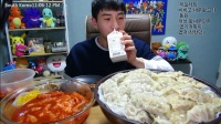 韩国banzz大胃王吃播大挑战(虾饺+个性奇葩…)直播间