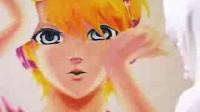 【技术宅】壁にでっかく【右肩の蝶レンきゅんver】描いてみた【我挖墙发自真心!】