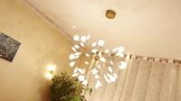 ZKD8348吊灯服装店吧台创意客厅餐厅个性大气艺术北欧后现代简约叶子灯具