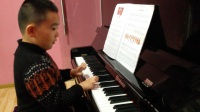 金玲睿英皇音乐钢琴启蒙第六节课