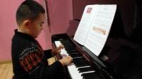 重庆金玲睿艺术学校英皇音乐钢琴启蒙第六节课