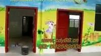 幼儿园装饰画外墙内墙面壁画装饰手工喷绘画图片