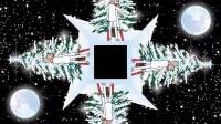 拉斐尔圣诞全息投影视频