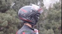 机车网拍装备,AGV 揭面头盔,可在微信号下单购买