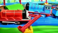 日本多美正品托马斯和朋友们电动轨道火车玩具 说话有汽笛音乐音效 OT-03 红色詹姆士