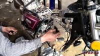 GN125摩托车换二手发动机(第二集)