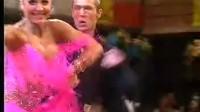 """2005年""""澳博杯""""第2005年德国体育舞蹈大师赛拉丁舞冠军丹麦选手库塞尔的桑巴舞欣赏。选自DS"""