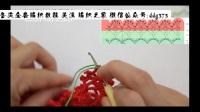 勾针短针怎么钩h钩针裙子(18)h怎么钩花朵图解和视频l
