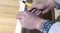 折叠餐桌安装步骤