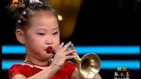 3岁会吹唢呐小姑娘唱豫剧《朝阳沟》真厉害 绝了