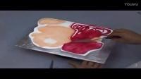 艺术裱花蛋糕制作电烤箱烤面包