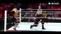 WWE暴力女子摔跤视频 火辣比基尼倒立抱摔!