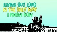 【Loranmic】Brooke Candy - Living Out Loud (Lyric Video) ft. Sia