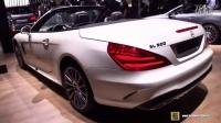 详拍2017款奔驰SL500敞篷_汽车之家价格测评测20167