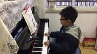 四岁宝宝弹钢琴-送别