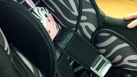 0-4歲安全座椅調節肩帶高低檔及五點式安全帶調節長度教程