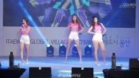 福利!热裤大美腿挺胸,韩国美少女性感热舞视