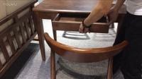 舒乎家具书桌北欧沙发日式沙发北欧家具出3D效果图 (1)