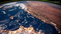 太空中看美丽壮观的地球