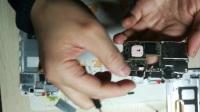 华为mate8拆机图解教程更换带框内外屏幕总成 后盖 电池 尾插小板 喇叭 开机排线 摄像头
