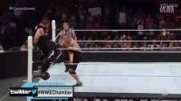 WWE约翰塞纳2017大战,飞身屁股蹲死兰迪