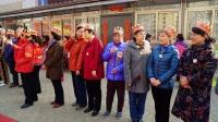 建材东里社区为三月份出生的老人过生日