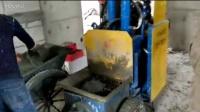 液压输送泵b20二次构造柱试机现场,总代直销 -构造柱TZRJP