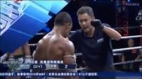 泰拳王出场跳柔骚舞 比赛中暴拳KO黑壮男!