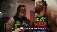 WWE 2017年3月8日 SmackDown(中文字幕)-全场