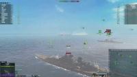 海战世界-十级战列舰-H41-四杀+伊利诺伊-双杀-合集-Lion老虎解说